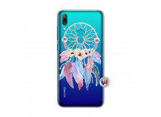 Coque Huawei Y7 2019 Multicolor Watercolor Floral Dreamcatcher