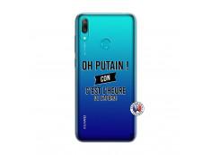 Coque Huawei Y7 2019 Oh Putain C Est L Heure De L Apero