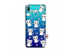 Coque Huawei Y7 2019 Petits Chats