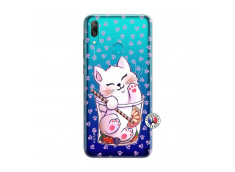 Coque Huawei Y7 2019 Smoothie Cat