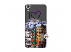 Coque Htc Desire 820 I Love Amsterdam