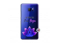 Coque HTC U Ultra Je Peux Pas J Ai Yoga