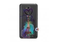 Coque Lg F70 I Love Paris