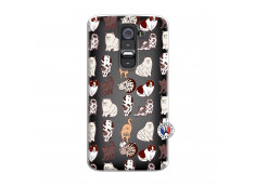 Coque Lg G2 Cat Pattern
