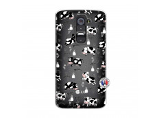 Coque Lg G2 Cow Pattern