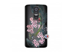 Coque Lg G2 Flower Birds