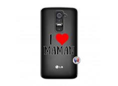 Coque Lg G2 I Love Maman