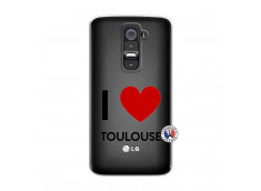 Coque Lg G2 I Love Toulouse
