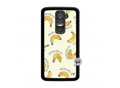 Coque Lg G2 Sorbet Banana Split Noir