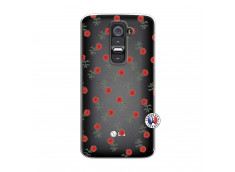 Coque Lg G2 Rose Pattern