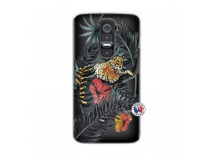 Coque Lg G2 Leopard Tree