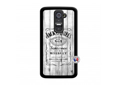 Coque Lg G2 White Old Jack Noir