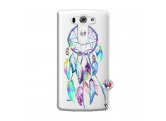Coque Lg G3 Blue Painted Dreamcatcher
