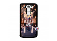Coque Lg G3 Cat Nasa Noir