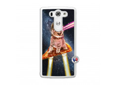 Coque Lg G3 Cat Pizza Translu