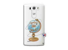 Coque Lg G3 Globe Trotter