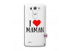 Coque Lg G3 I Love Maman