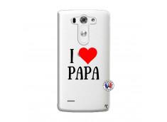 Coque Lg G3 I Love Papa