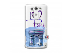 Coque Lg G3 I Love Paris Arc Triomphe