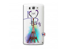 Coque Lg G3 I Love Paris