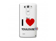 Coque Lg G3 I Love Toulouse