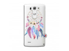 Coque Lg G3 Multicolor Watercolor Floral Dreamcatcher