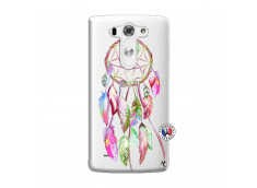 Coque Lg G3 Pink Painted Dreamcatcher