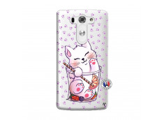 Coque Lg G3 Smoothie Cat