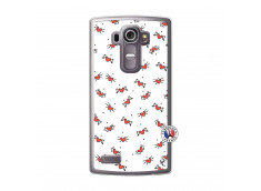 Coque Lg G4 Cartoon Heart Translu