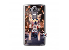 Coque Lg G4 Cat Nasa Translu