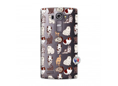 Coque Lg G4 Cat Pattern