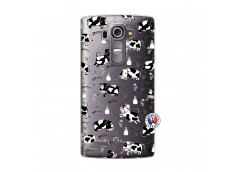 Coque Lg G4 Cow Pattern