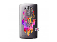 Coque Lg G4 Dreamcatcher Rainbow Feathers