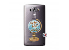 Coque Lg G4 Globe Trotter