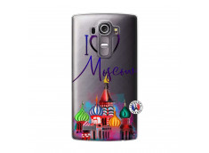 Coque Lg G4 I Love Moscow