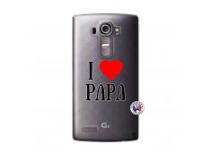 Coque Lg G4 I Love Papa