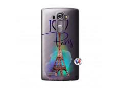 Coque Lg G4 I Love Paris