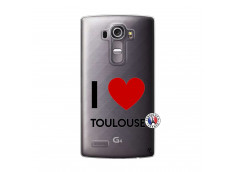 Coque Lg G4 I Love Toulouse