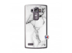 Coque Lg G4 White Marble Translu