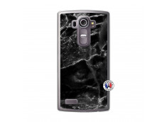 Coque Lg G4 Black Marble Translu