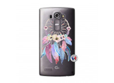 Coque Lg G4 Multicolor Watercolor Floral Dreamcatcher