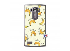 Coque Lg G4 Sorbet Banana Split Translu