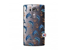 Coque Lg G4 Dauphins