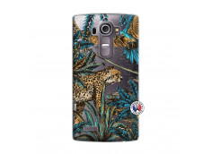 Coque Lg G4 Leopard Jungle