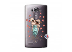 Coque Lg G4 Puppies Love