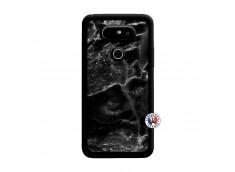 Coque Lg G5 Black Marble Noir