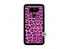 Coque Lg G5 Pink Leopard Noir