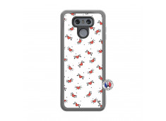 Coque Lg G6 Cartoon Heart Translu