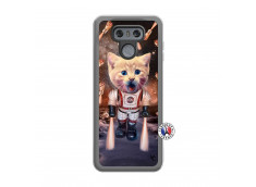 Coque Lg G6 Cat Nasa Translu