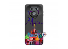 Coque Lg G6 I Love Moscow